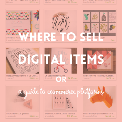 Where to sell digital products