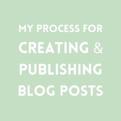 Creating blog posts