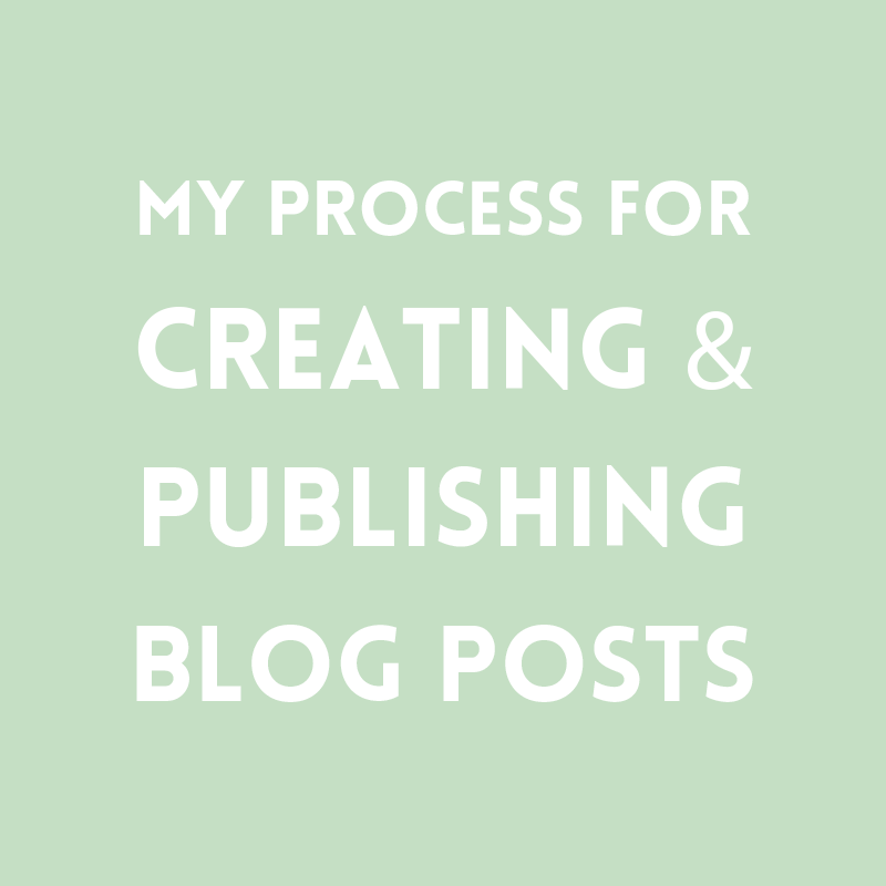 Creating blog posts