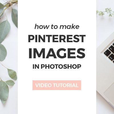 How to make a simple laurel wreath in Photoshop ~ Elan Creative Co.