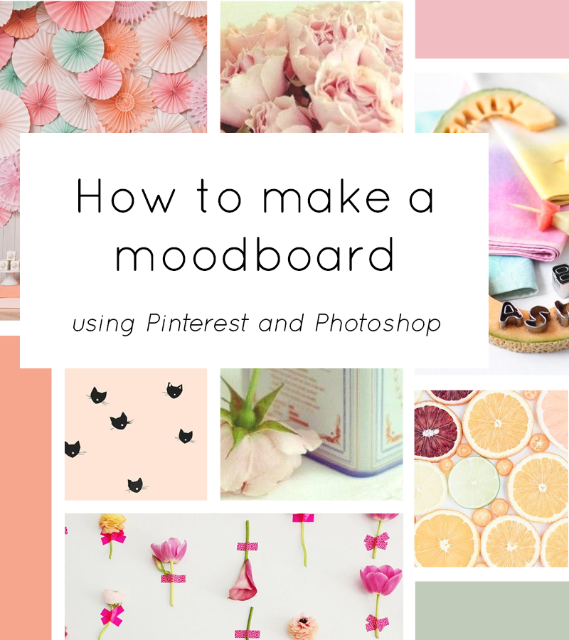 How to make a moodboard