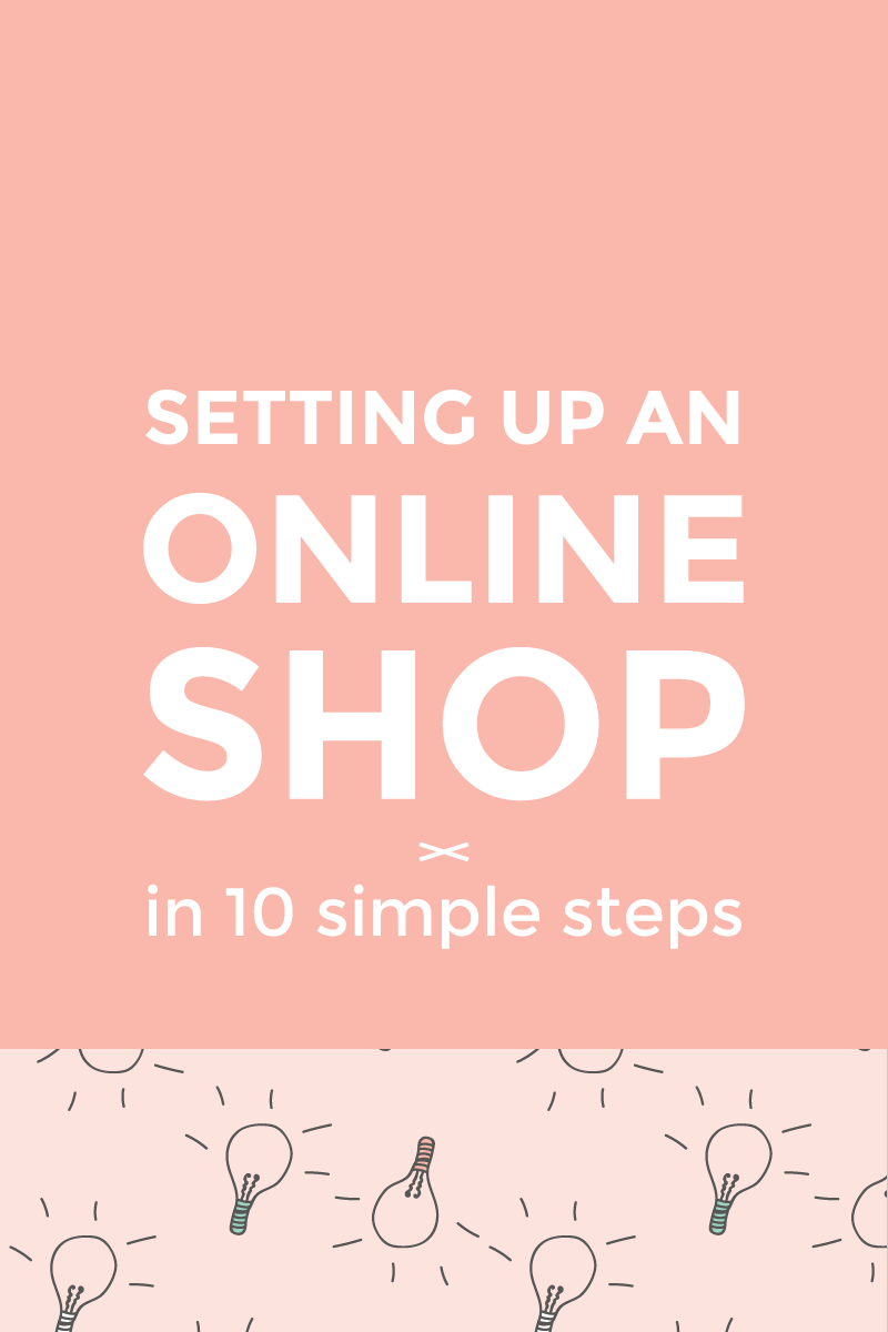 Setting up an online shop - image
