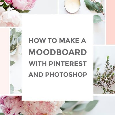 How to make a moodboard in Photoshop