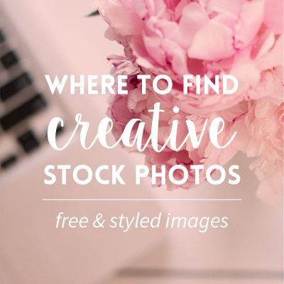Where to find stock photos