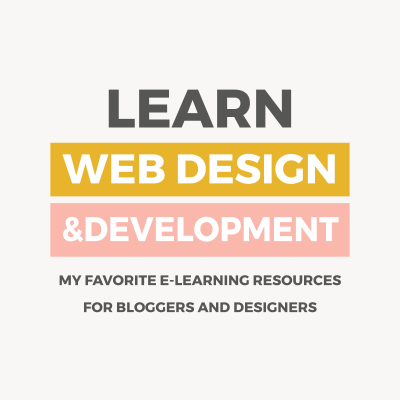 Learn web design and development