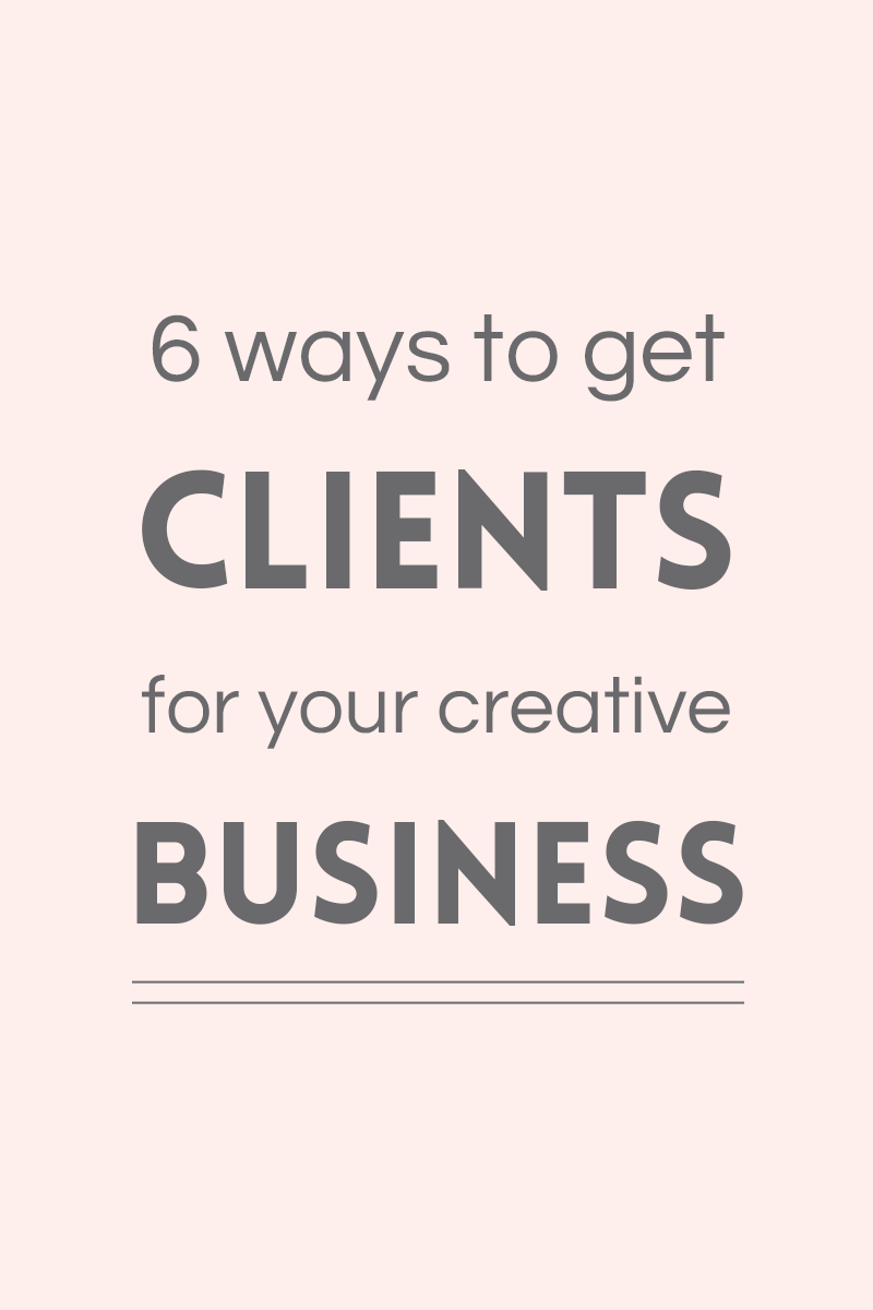 Find clients for your creative business