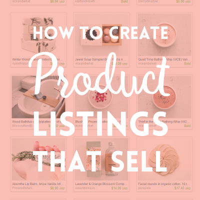 Product listings that sell