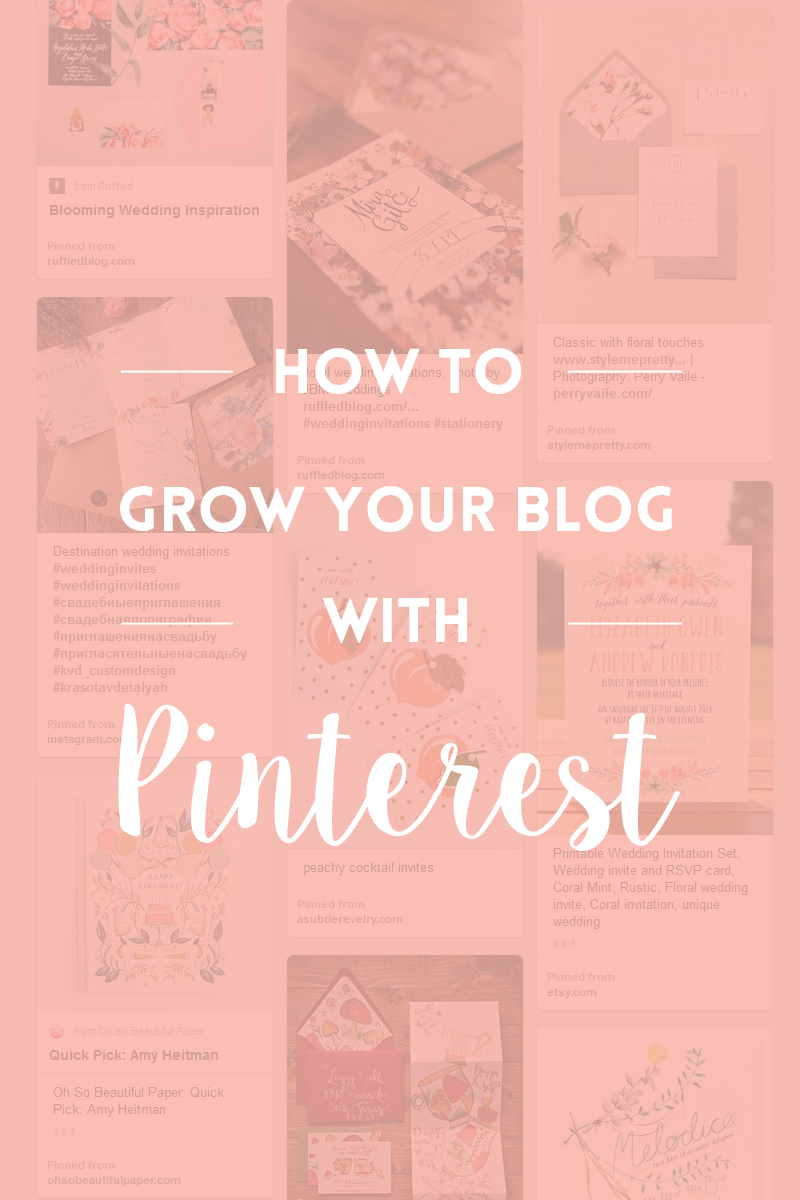 How to grow your blog with Pinterest