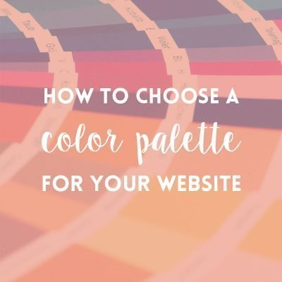 How to choose a color palette for your website