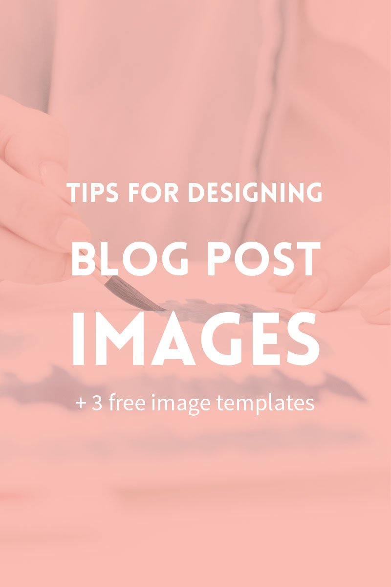 Tips for designing blog post images