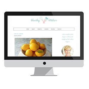 Bluesky Kitchen: Blog Design