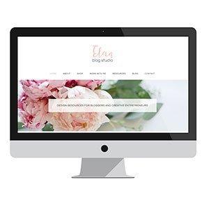 Elan Blog Studio: Branding +Web Design
