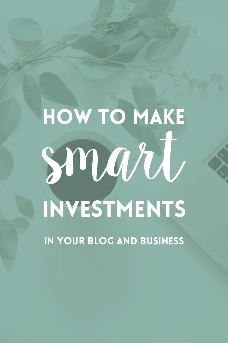 Smart ways to invest in your blog