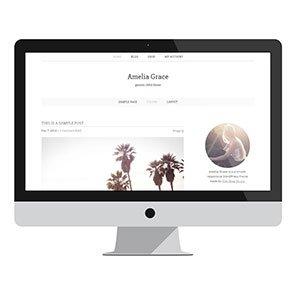 Amelia Grace: Design + Development