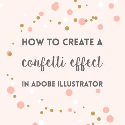 Create confetti brush in Adobe Illustrator