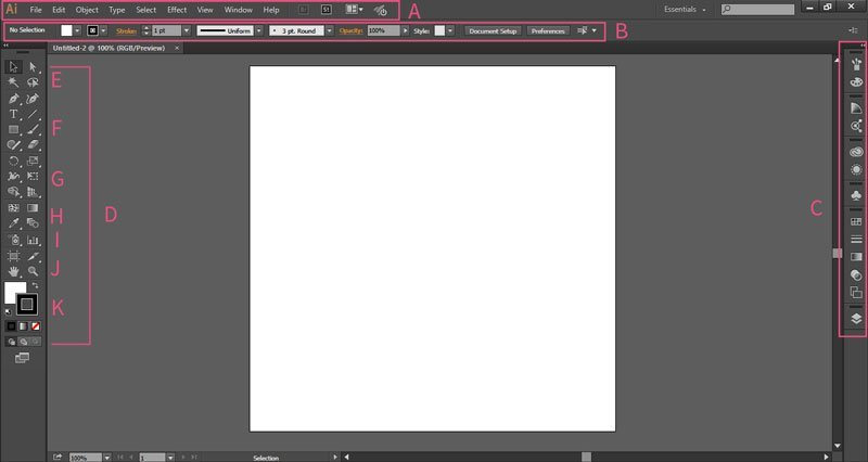 Getting started with Adobe Illustrator