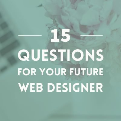 15 questions for your next web designer
