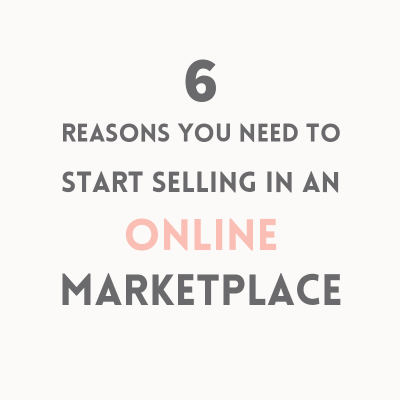 Advantages of selling in an online marketplace