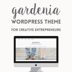 Premium WordPress Theme: Gardenia
