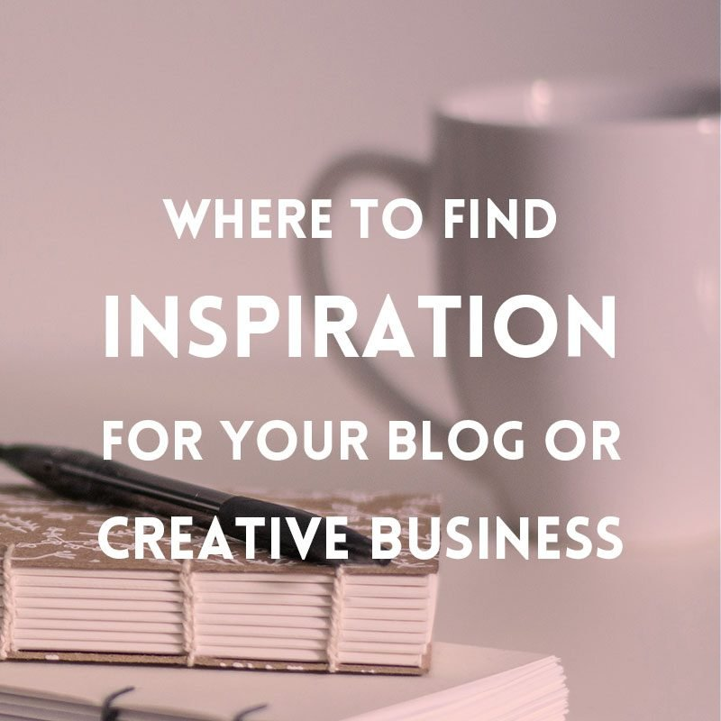 Where to find inspiration for your creative business