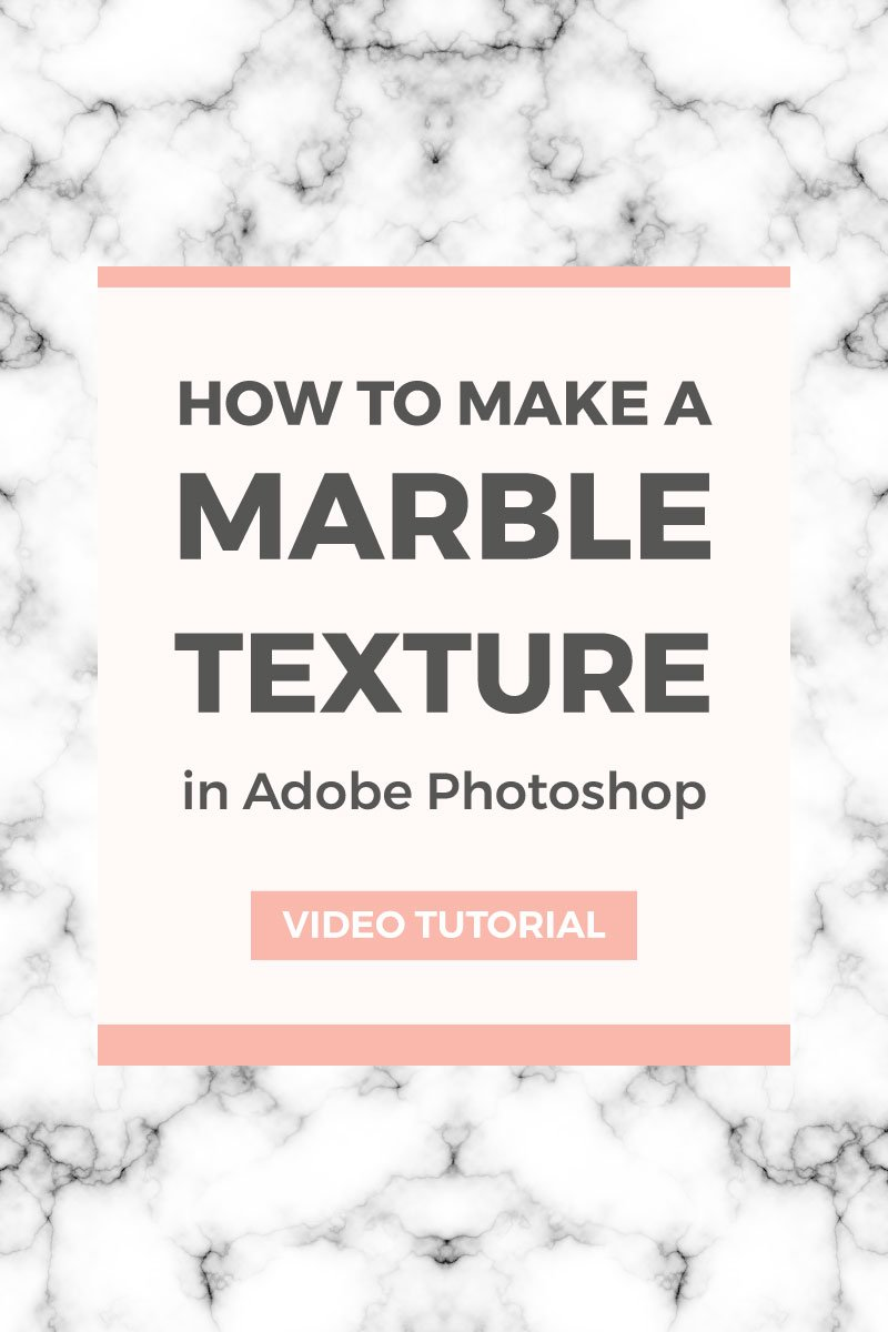Create A Retro Inspired Capsule Wardrobe: How To Create A Marble Texture In Photoshop