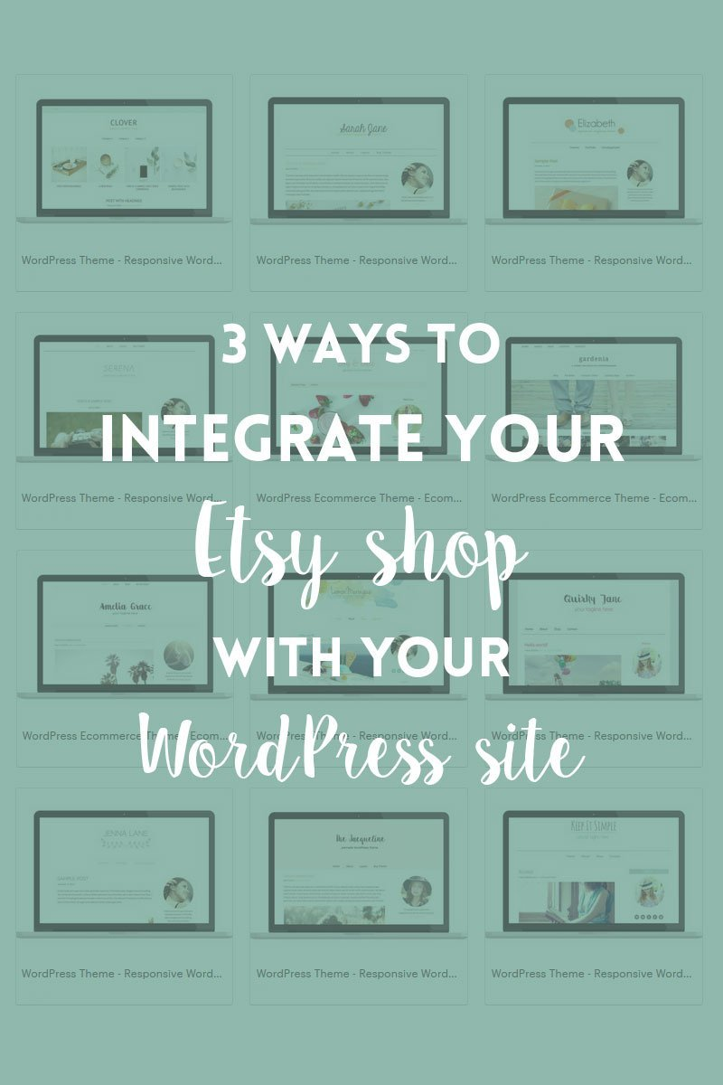 3 ways to integrate Etsy with your WordPress website
