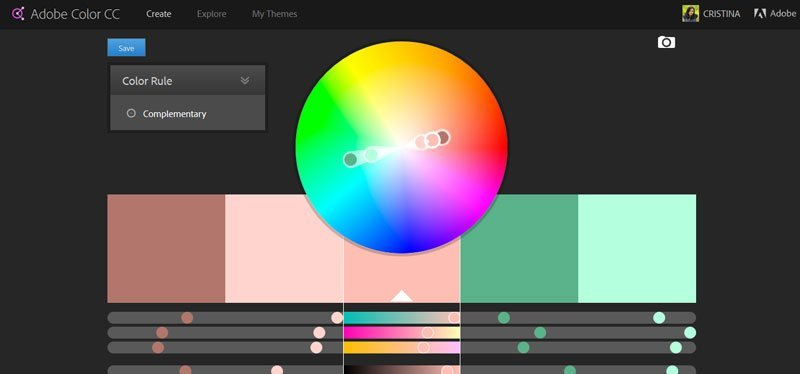 6 color palette resources for your blog or business