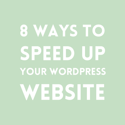 A slow website is not only frustrating, but it can influence your page views and SEO. Here are 8 simple ways to speed up your WordPress website.