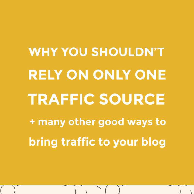 Why you shouldn't rely on a single traffic source / featured image
