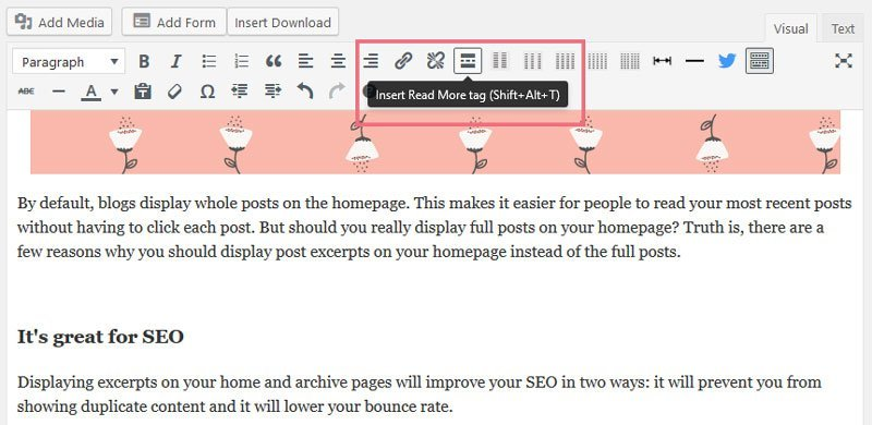 3 reasons why you should display post excerpts on your homepage