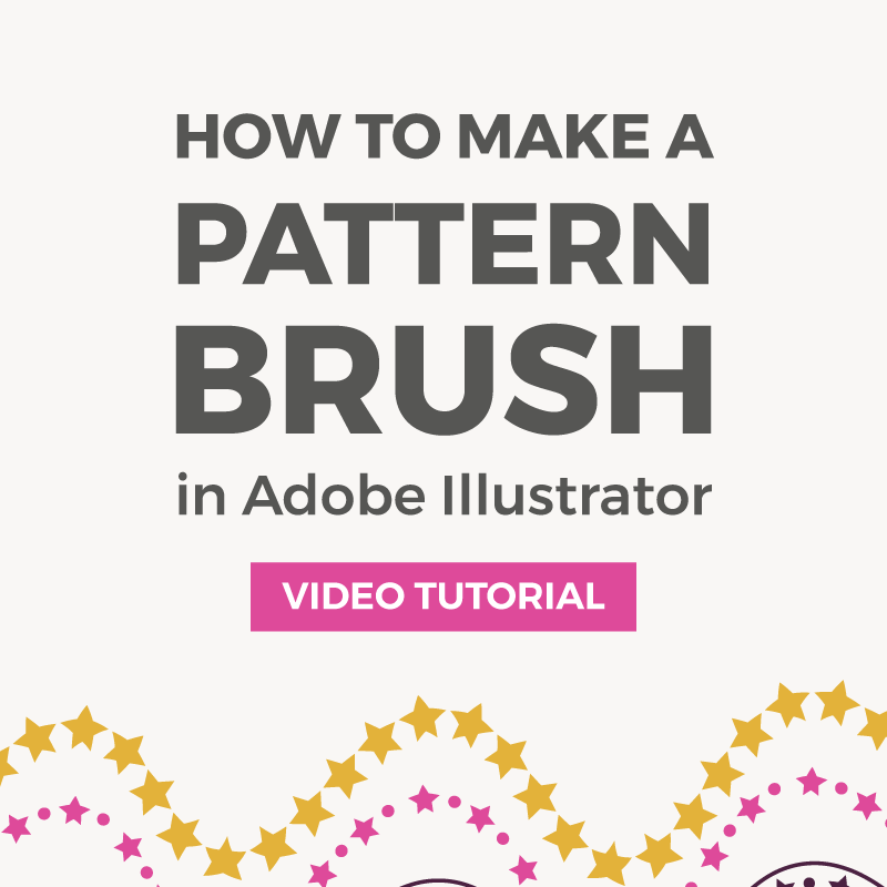 How to make a seamless geometric pattern brush in Illustrator