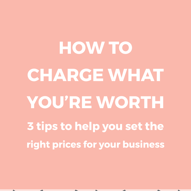 How to charge what you're worth