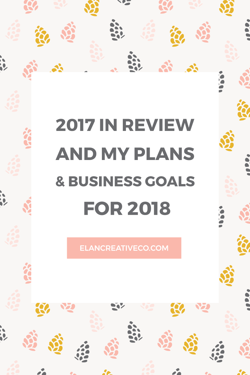 2017 in review and my plans for 2018