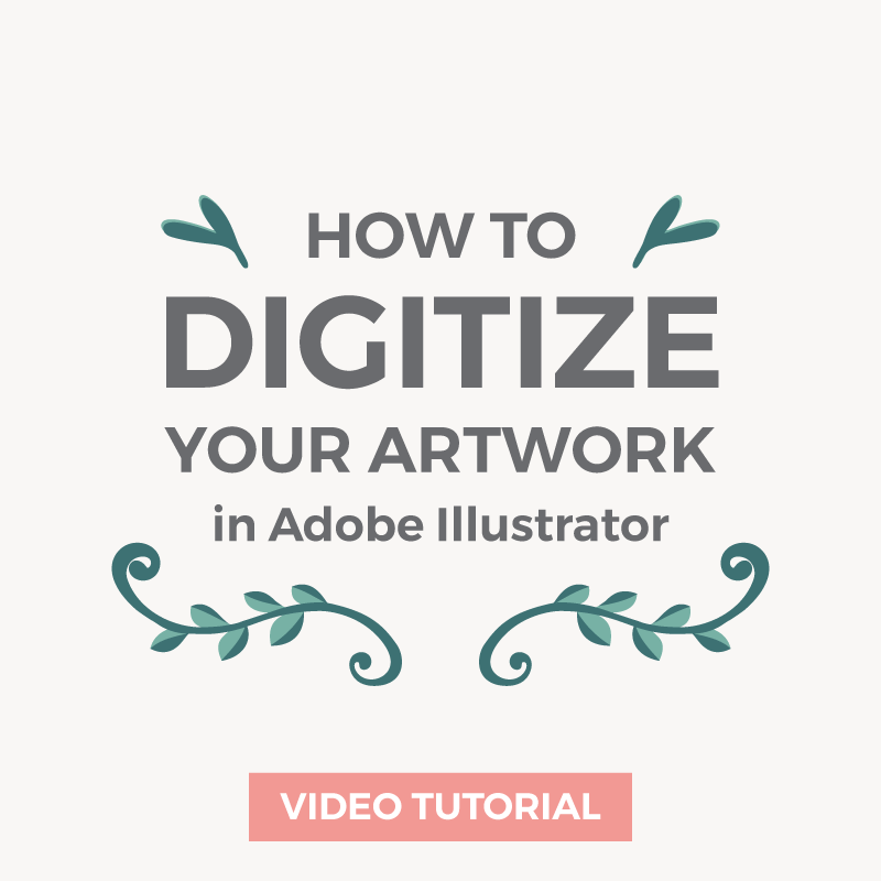 How to digitize a sketch using Illustrator