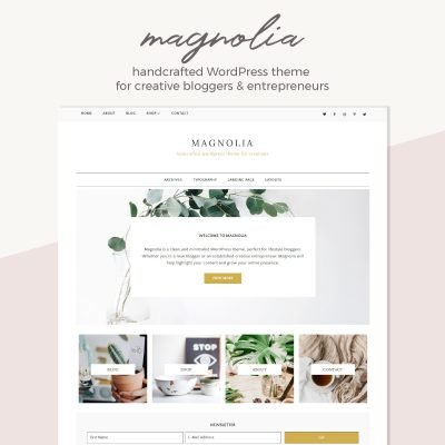 Introducing Magnolia – WordPress Theme for creative bloggers & entrepreneurs