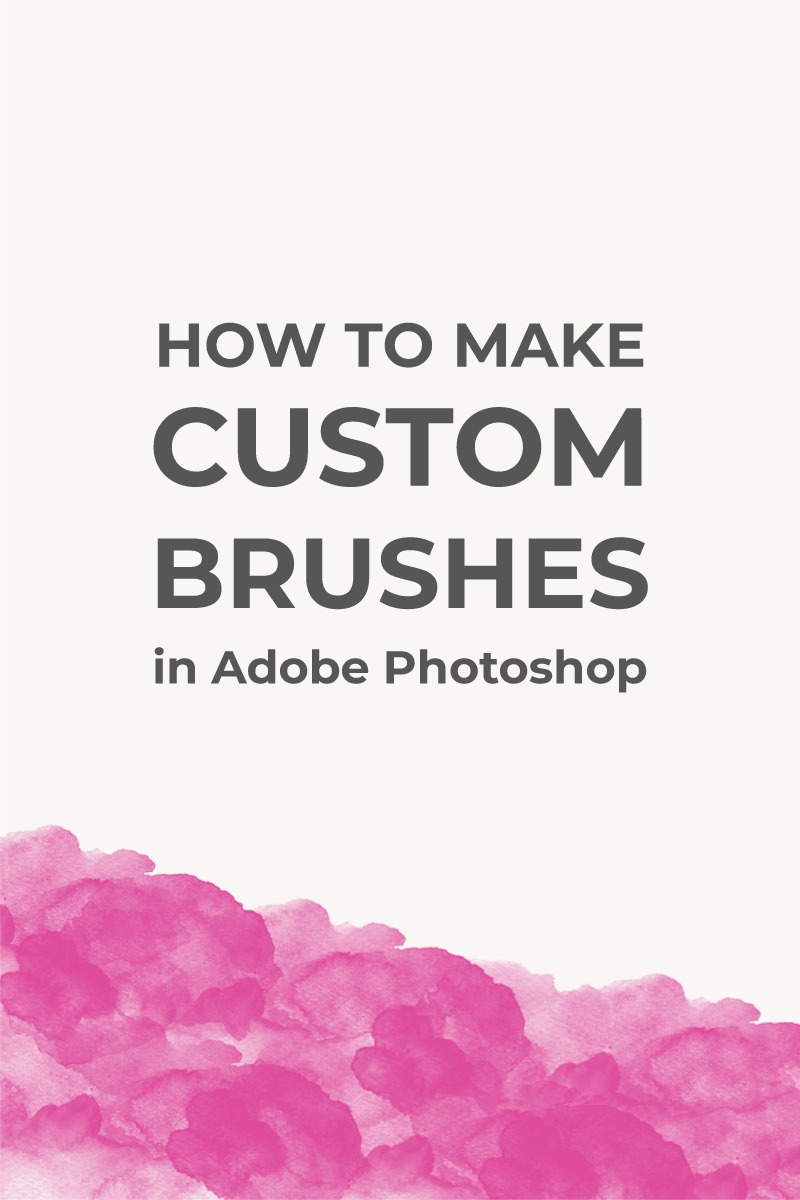 In this tutorial, I want to show you how easy it is to make custom brushes in Photoshop. We are going to use a simple illustration and turn it into a brush.