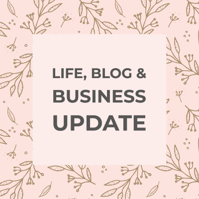 life and blog update