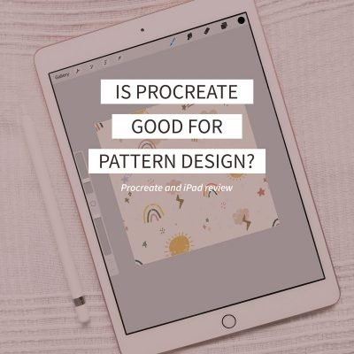 is Procreate good for pattern design
